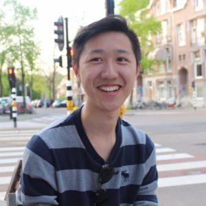 Calvin Gu, tweedejaars rechtenstudent